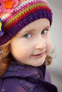 Little girl portrait Royalty Free Stock Images