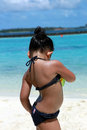 Little Girl Sexy Back Pose Sum...