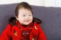 Little girl smile asian baby Stock Photos
