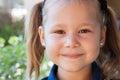Little Girl Smilling Royalty Free Stock Photo