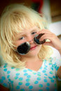 Little girl with sunglasses Royalty Free Stock Photo