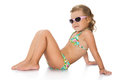 Little girl in sunglasses Royalty Free Stock Photo