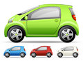 Little green car Stock Photography