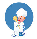 Little happy cook Royalty Free Stock Photo