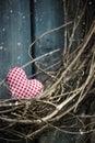 Little Heart On Christmas Wreath