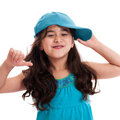 Little hip hop girl Stock Photography