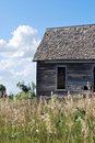 Little House on the Kansas Prairie Royalty Free Stock Photo