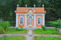 Little house of The Menagerie in Kuskovo estate in Moscow