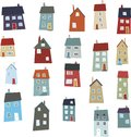 Little Houses Royalty Free Stock Photography