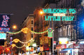 Little Italy Royalty Free Stock Photo