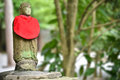 Little japanese buddha sculpture in kōtoku in temple in kamakura Stock Images