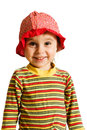 Little kid laughing Royalty Free Stock Photo