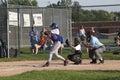 Little League Baseball Royalty Free Stock Photo