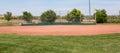 Little League Baseball Field Royalty Free Stock Photo