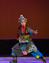 """Little marshal yue lei peking opera """"little worriors of yeuh's family"""" the named yeuhs family performed by jiangxi troupe Royalty Free Stock Photos"""