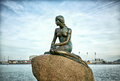 Little Mermaid, Copenhagen, Denmark Royalty Free Stock Photo