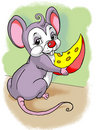 Little mice Stock Images