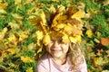 Little miss Autumn Stock Photography