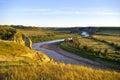 Little Missouri River Royalty Free Stock Photo