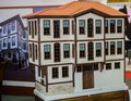 Little model of Example of Turkish Traditional architecture