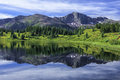 Little Molas Lake, San Juan Mountains, Colorado Royalty Free Stock Photo