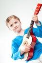 Little musician Stock Photos