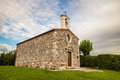 Little old church in italy a village of Royalty Free Stock Photos