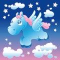 Little Pegasus Stock Photo