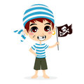 Little Pirate Kid Stock Photos