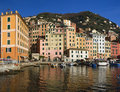 Little port of Camogli 2 Stock Photos