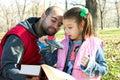 Malý pekný a čítanie kniha