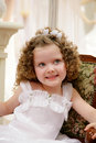 Little, pretty girl. Royalty Free Stock Images
