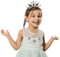 Little Princess Portrait Royalty Free Stock Photo