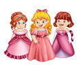 Little princesses Stock Photo