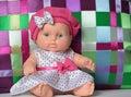 Little puppet polka dot dress