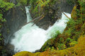 Little qualicum falls Stock Photography