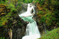 Little qualicum waterfall Royalty Free Stock Photos