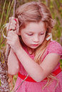 Little red ridding hood Royalty Free Stock Images