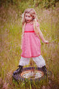 Little red ridding hood Stock Images