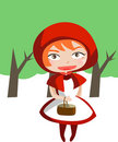 Little Red Riding Hood Royalty Free Stock Image