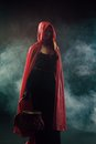 Little red riding hood from grimms fairy tales Royalty Free Stock Photos