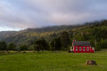 Little red school house Royalty Free Stock Photo
