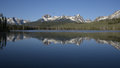 Little Redfish Lake Royalty Free Stock Photo
