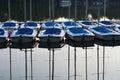 Little sailboats Royalty Free Stock Photo