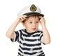 Little sailor keeps