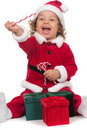 Little Santa Claus Royalty Free Stock Image