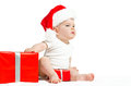 Little Santa Claus Stock Photography