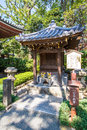 Little shrine at senso ji temple in tokyo japan the oldest Stock Image