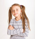 Little sporty girl Royalty Free Stock Image