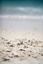 Little stones on beach Royalty Free Stock Photo